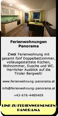 Link zum Ferienwohnungen Panorama